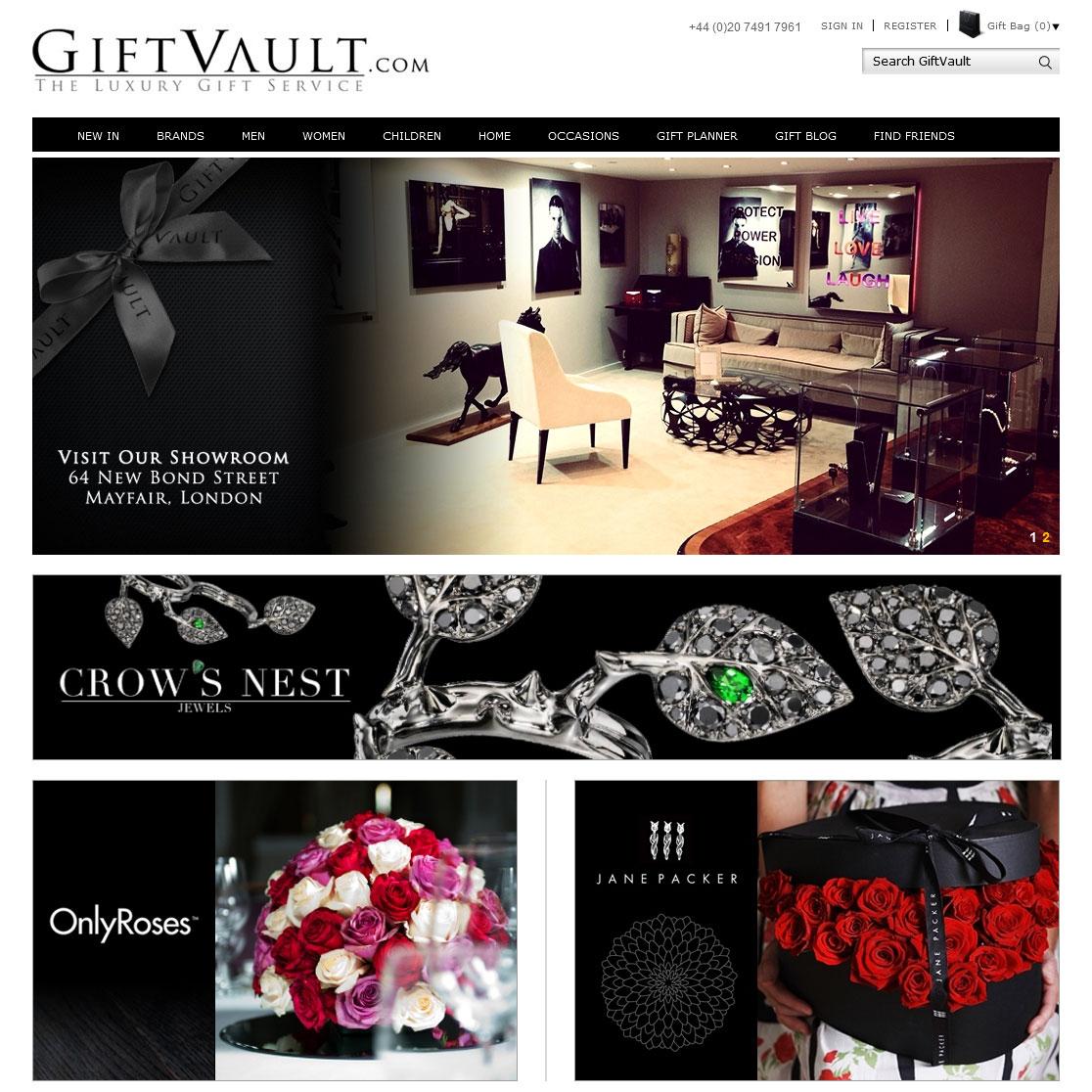 Gift Vault