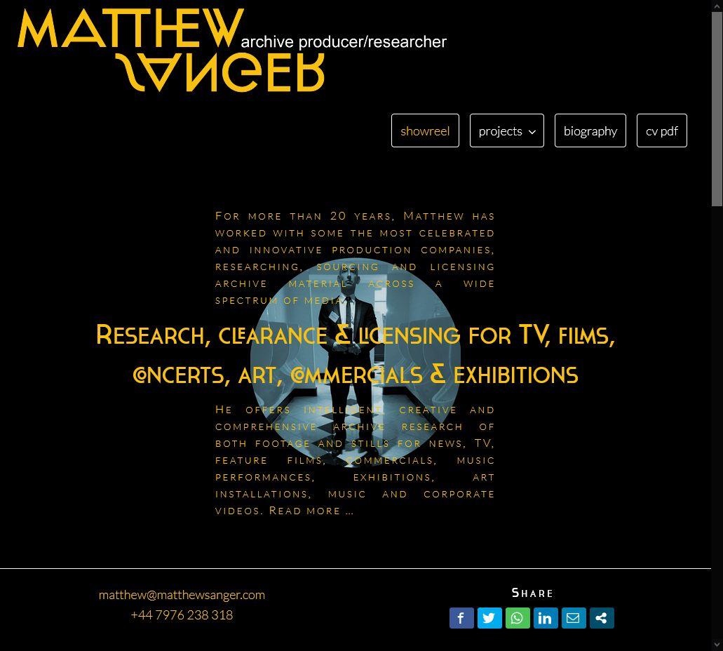 Matthew Sanger